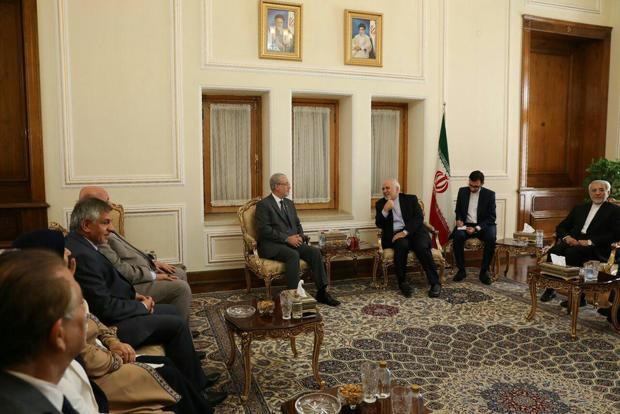 دیدار هیات پارلمانی عراق با ظریف