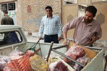 دامپزشکی 2.5 تن گوشت و فرآورده ناسالم را معدوم کرد