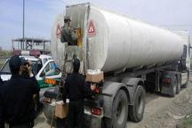 کامیون حامل سوخت قاچاق در بیجار توقیف شد