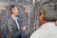 14 هزار مراغه ای در صنعت فرش فعالیت می کنند