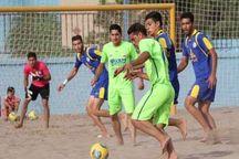 مرحله پابانی مسابقات فوتبال ساحلی امیدهای ایران در اردکان آغاز شد