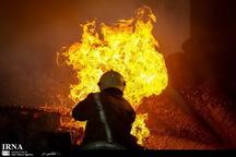 آتش سوزی ساختمان مسکونی در کامرانیه تهران 2مصدوم داشت