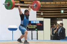 درخشش تیم وزنه برداری آذربایجان غربی در مسابقات وزنه برداری شمال غرب کشور