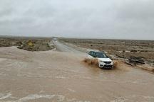 بارندگی در خراسان جنوبی روان آب به راه انداخت