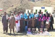 مدرسه خیرساز در روستای سبز بخش مرکزی نیکشهر افتتاح شد