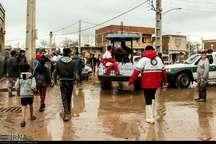 ارسال تجهیزات امداد و نجات به مناطق سیل زده گلستان