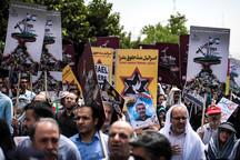 بازتاب راهپیمایی روز قدس در رسانه های بین المللی