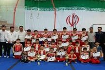 مسابقات ترامپولین قهرمانی آذربایجان غربی در ارومیه برگزار شد