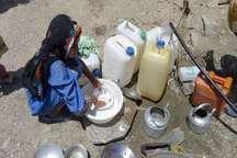 2 چاه آب شهر اسپکه نیکشهر خشک و آب جیره بندی شد