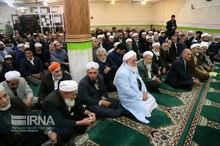 جشن وحدت در مسجد اهل سنت بجنورد برگزار شد
