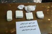 2 کیلوگرم کوکائین در قزوین کشف شد