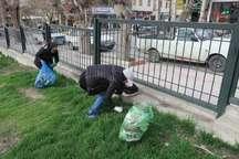 دوستداران طبیعت، معبد آناهیتا کنگاور را پاکسازی کردند