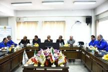 جلسه مشترک فرماندار البرز با مدیران کل امور مالیاتی و تامین اجتماعی استان