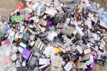18 هزار قلم لوازم آرایشی قاچاق در بیجار کشف شد