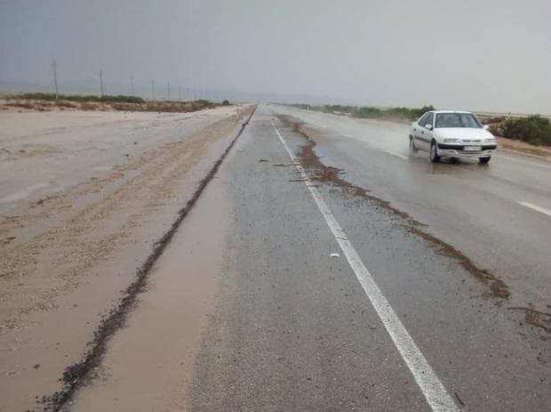 سیلاب جاده قدیم اهواز - خرمشهر را بست