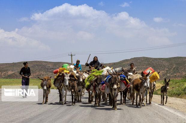 کوچ عشایر به قشلاق تا پایان آبان ادامه دارد