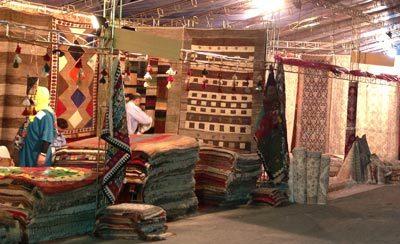 نمایشگاه توانمندهای صنعت فرش استان بوشهر گشایش یافت