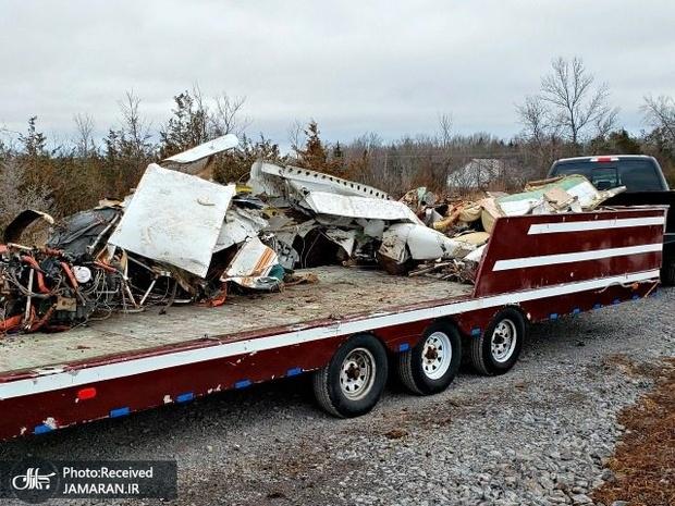 عکس/ ۹ کشته در حادثه سقوط هواپیما در آمریکا