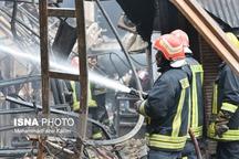 کمبودی در اطفای آتشسوزی بازار تبریز نداشتیم