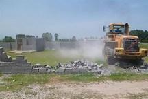 71 مورد ساخت و ساز غیرمجاز در اراضی کشاورزی کرج تخریب شد