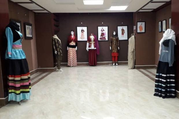 نمایشگاه طراحی لباس سنتی مناطق کشور در سقز گشایش یافت