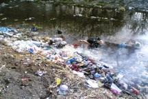 تلخکامی مسافران از تخلیه زباله درنزدیکی منطقه گردشگری تلار قائمشهر