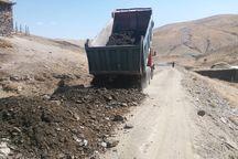 عملیات بهسازی راههای روستایی در مهاباد آغاز شد