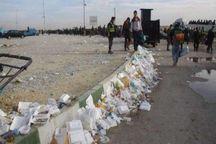 روزانه ۵۰ تن زباله از شهر و مرز مهران جمعآوری میشود