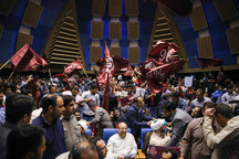 حواشی حضور قالیباف در مجتمع سرچشمه تهران