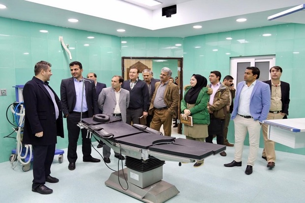 5000 زایمان در بیمارستان امام سجاد یاسوج انجام می شود