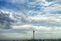 وزش باد و افزایش ابر برای  استان تهران پیش بینی می شود