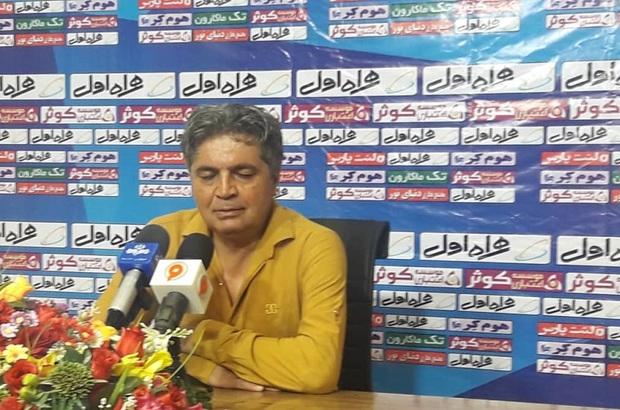 سرمربی تیم قشقایی شیراز: قرار نیست همه بازی ها را ببریم