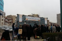 توزیع میوه عید تنظیم بازار در قزوین تا 15 فروردین ادامه دارد