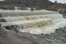 100 درصد سازه های آبخیزداری در بندرعباس آبگیری شد