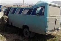 تصادف رانندگی یک کشته و 15 مصدوم بر جا گذاشت