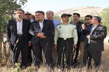 بازدید دادستان عمومی و انقلاب مرکز استان از اراضی ملی و دولتی