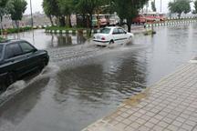 باران موجب قطع برق مناطقی از شمال خوزستان شد