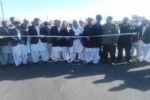 53 پروژه ویژه دهه فجر در نوک آباد خاش افتتاح شد