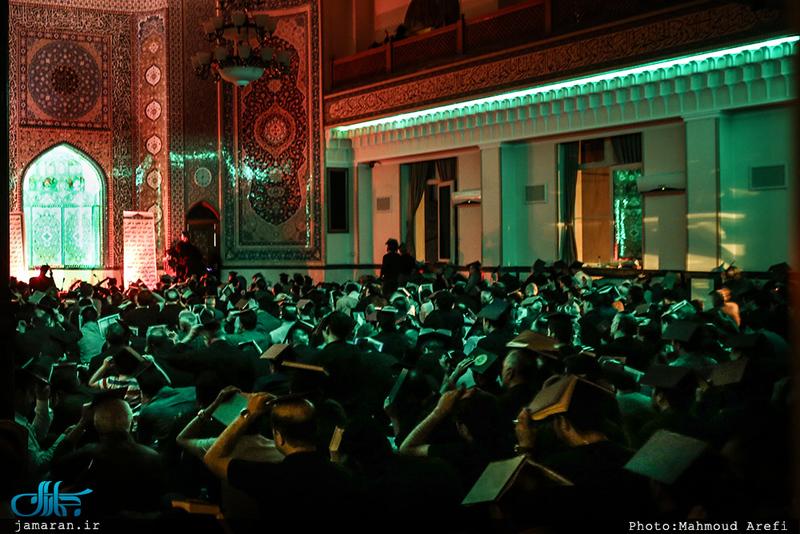 مراسم احیای شب بیست و یکم ماه مبارک رمضان در مسجد جامع جماران