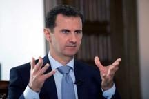 دیدار هیات فرانسوی با بشار اسد