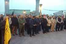 مراسم پیاده روی جاماندگان اربعین حسینی در تهران آغاز شد