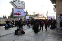 بیش از یک میلیون زائر از مرز مهران وارد کشور شدند