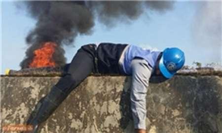 مانور آمادگی در برابر خرابکاری در خطوط انتقال گاز در هرمزگان اجرا شد