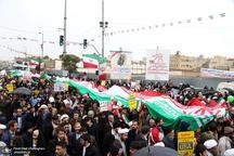 راهپیمایی باشکوه 22 بهمن در قم-4