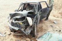 چهار مصدوم در واژگونی خودرو لیفان