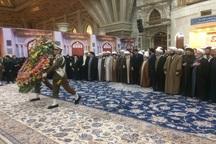 طلاب و روحانیون تهران با آرمانهای امام راحل تجدید بیعت کردند