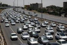 ترافیک سنگین در محورهای استان قزوین