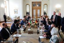 روایت ظریف از دیدار و گفتگوی صریح با وزیر خارجه آلمان در تهران