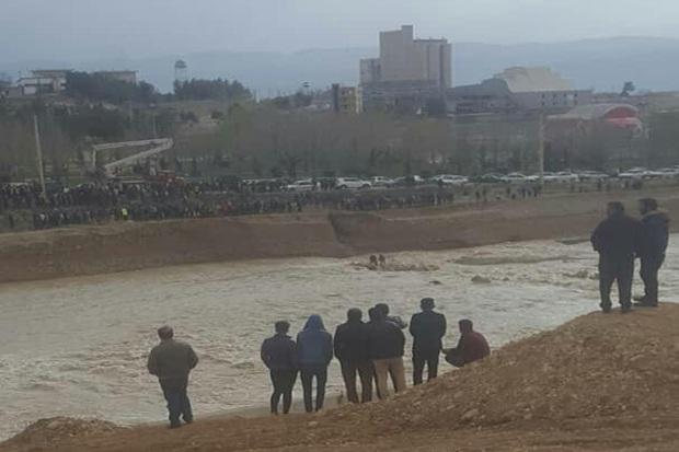 جوان غرقشده در رودخانه بشار یاسوج از مرگ حتمی نجات یافت