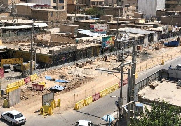 پروژه زیرگذر رسالت و خطر بروز سیلاب در ایلام